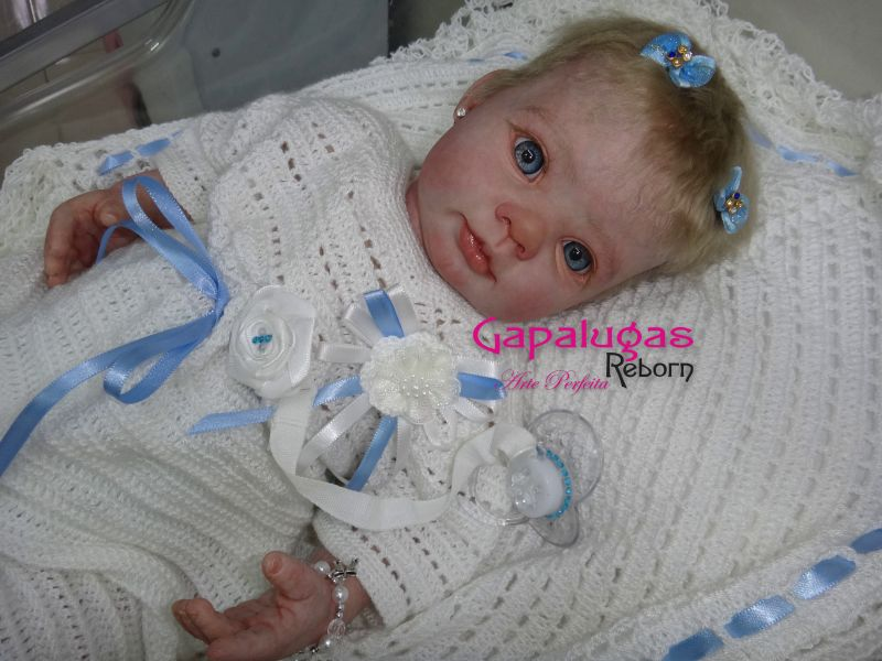 Bebê Reborn kit Dumplim - seu nome é Keyla