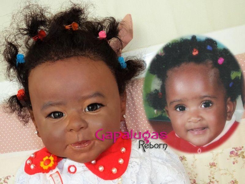 Bebê por aproximação ou por foto da Criança de Verdade - Por Encomenda