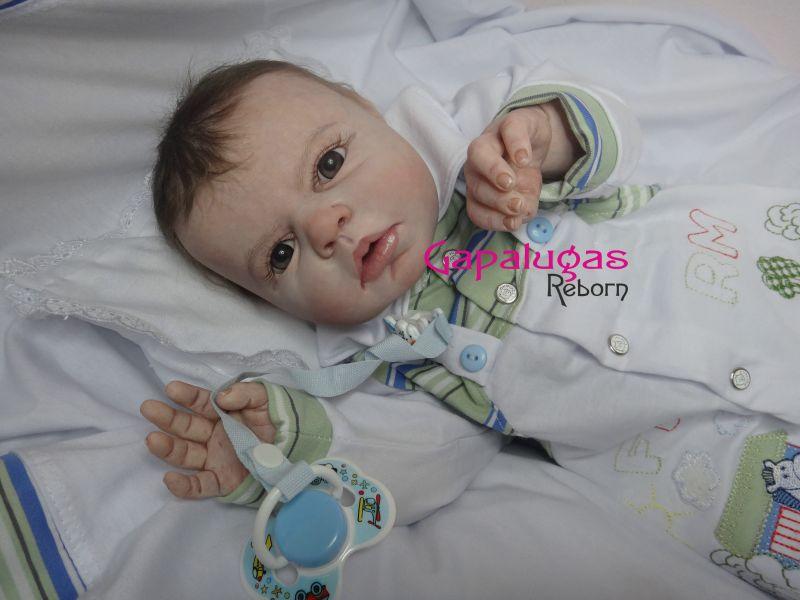 Bebê Reborn Kit Noah - Seu nome é João Luís
