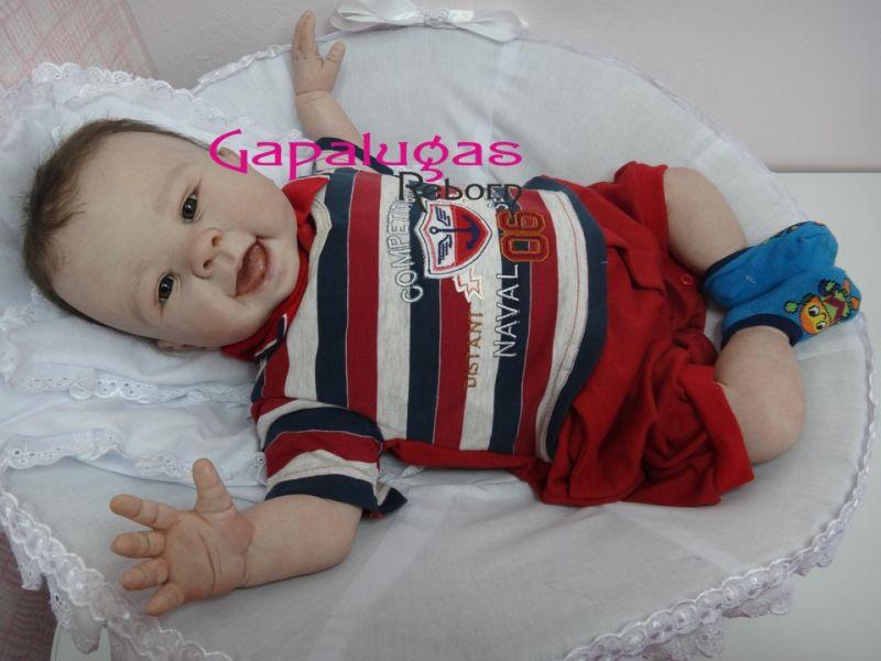 Bebê Reborn Kit Nala - Seu nome é Leonardo Maior