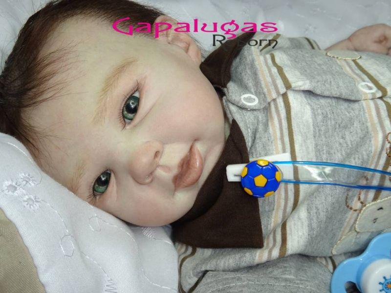 Bebê Reborn kit  Raine - seu nome Mateus