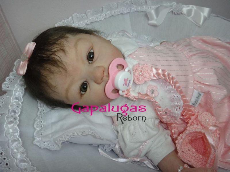 Bebê Reborn kit Kylin - Seu nome Beatriz