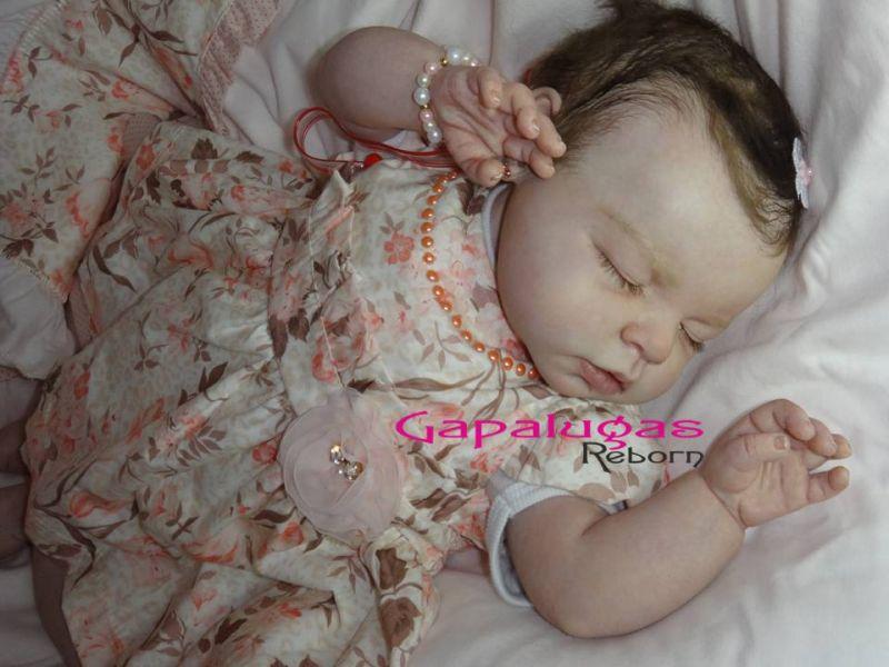 Bebê Reborn kit Noah Dormindo - Seu nome é Alice