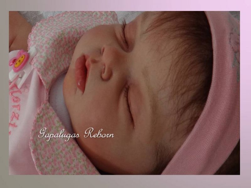 Bebê reborn kit Ariella - Seu nome é Melissa