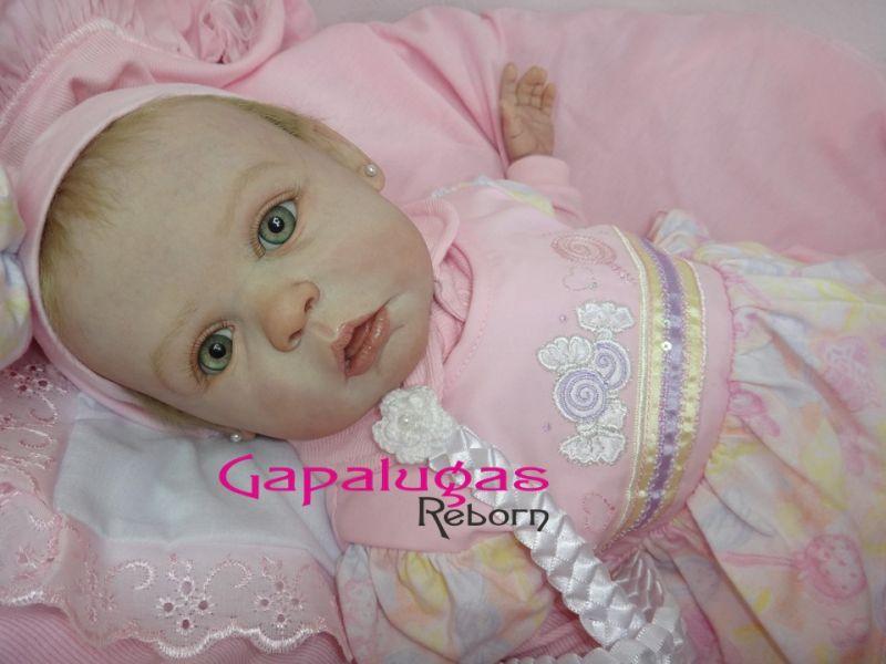 Bebê Reborn Kit Gracie - Seu nome é Isabelle