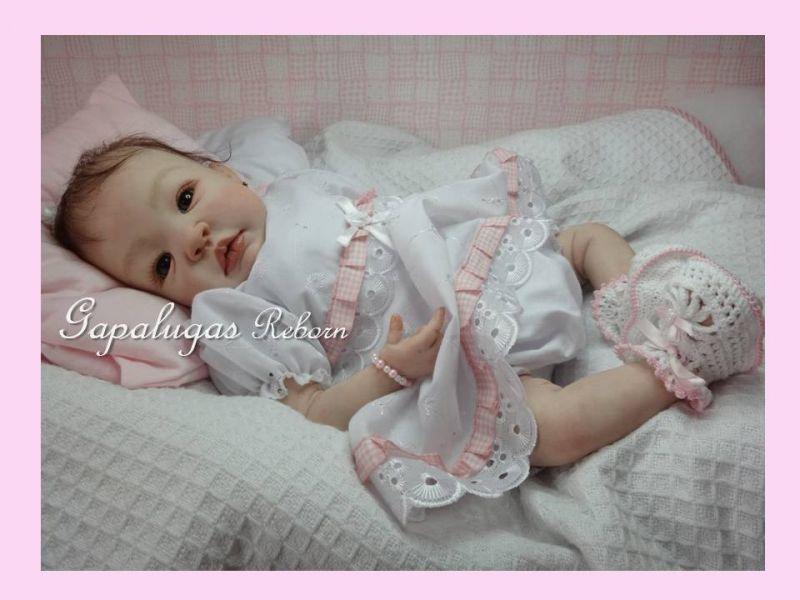 Bebê Reborn Kit Shyann - Seu nome é Nina