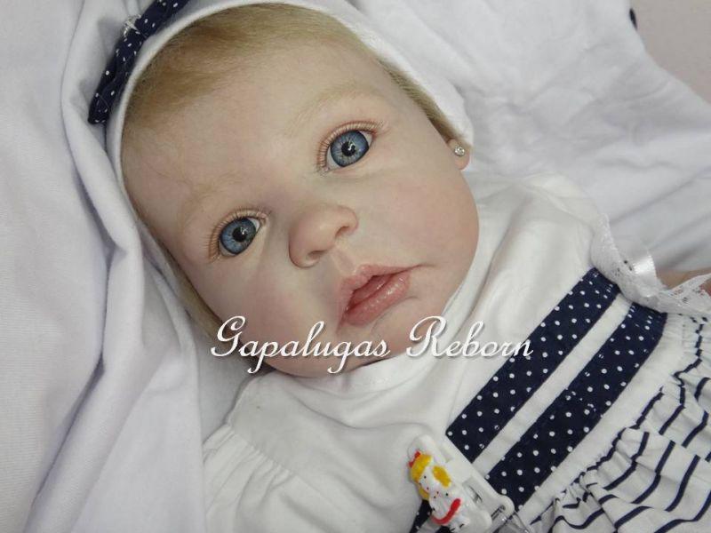 Bebe reborn kit  Gracie - Seu nome é  Gabi