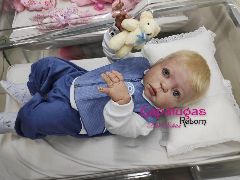 Bebê  Reborn Kit Juna - Seu nome é Cristiano Jesus