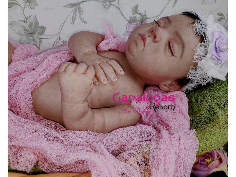 Bebê Reborn kit Eron - Seu nome é Lu