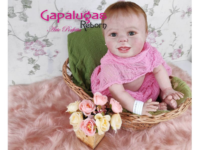 Bebê Reborn kit Amélia - Seu nome Maria Eduarda
