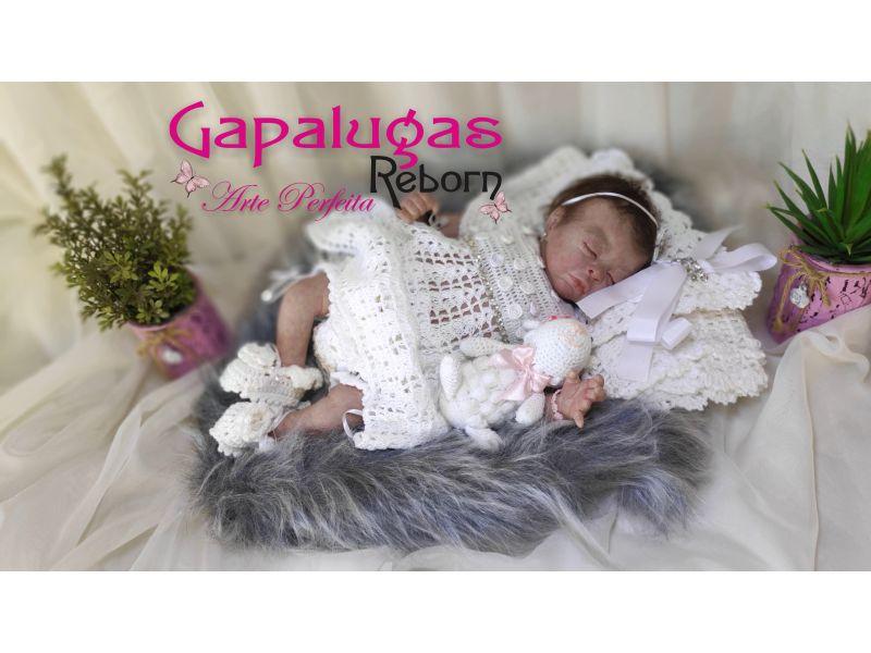 Bebê Reborn kit Teagan - Seu nome é Lia - VENDIDA