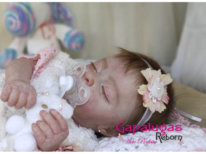 Realborns  kit Aria Sleeping -  Seu nome é Sabrina