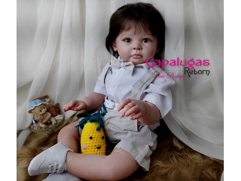 Bebê Reborn kit Lilly Beth - seu nome é Pedro