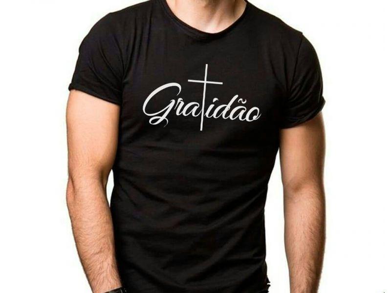 Camisas Personalizadas Gratidão