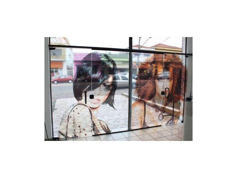 50 unid. Adesivo Vinil Transparente  3x3cm