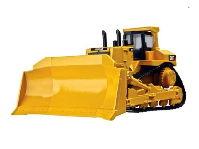 Miniatura de trator esteira Caterpillar D11T Bulldozer, na escala 1:63