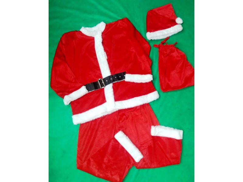 Roupa Papai Noel Adulto Tam Unico