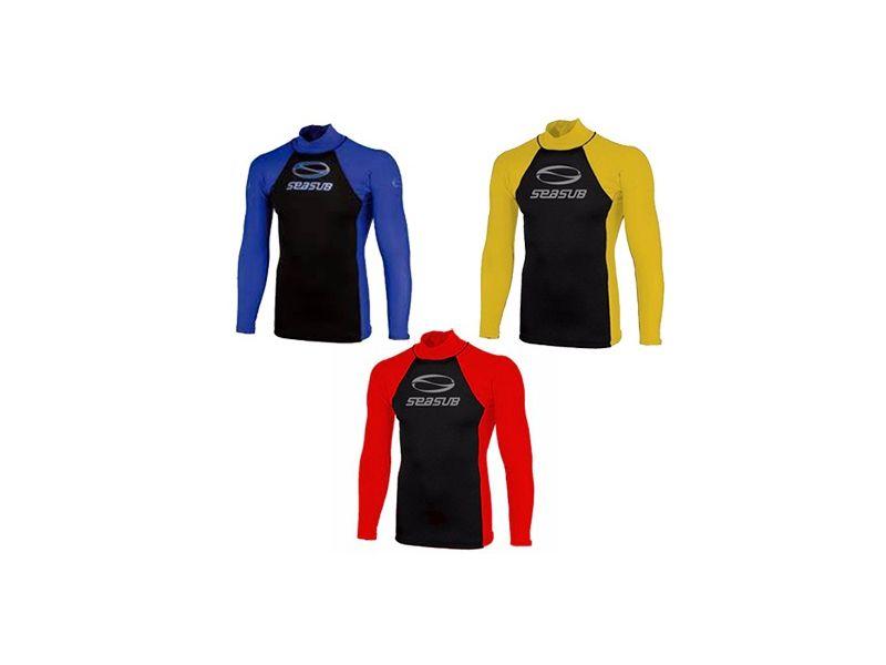 Camisa Térmica Neoprene E Lycra Seasub FPU 50+