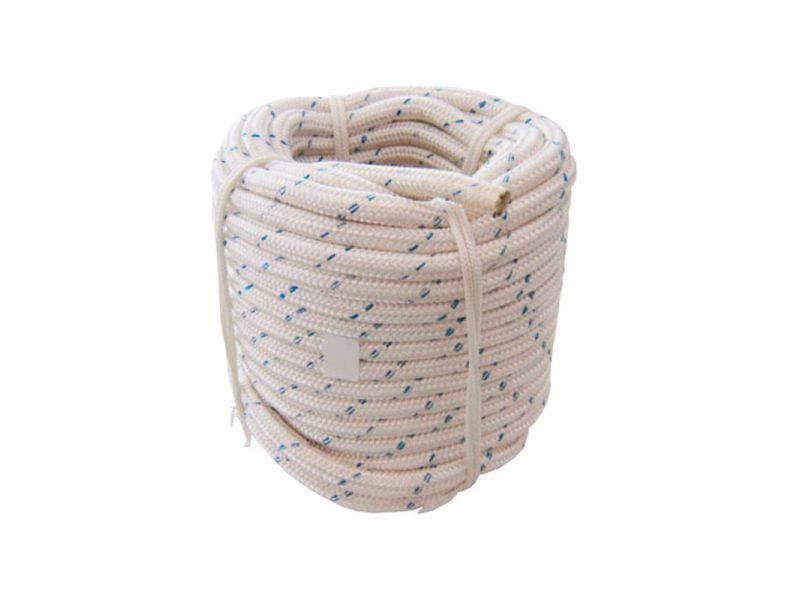 Corda 12mm poliamida para trava-quedas
