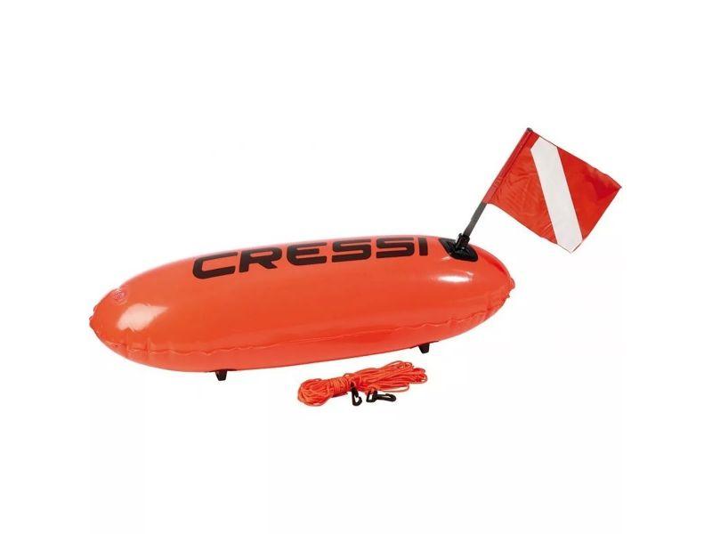 Boia Pesca Sub E Mergulho De Sinalização Torpedo Cressi