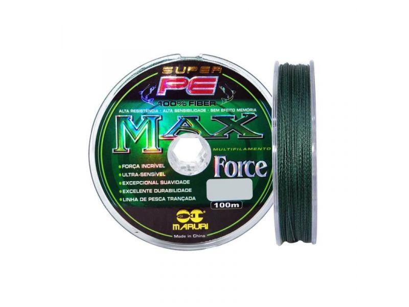 Linha Multifilamento Maruri Super pe Max Force 0,40 100M Única