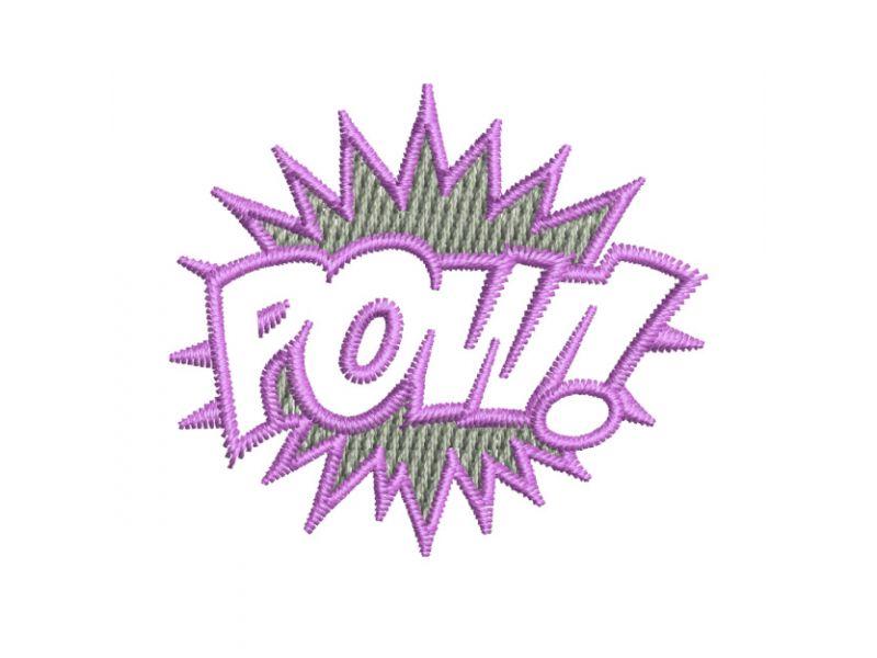 Patch POW! - Termocolante