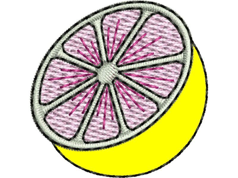 Patch Laranja Cortada - Termocolante