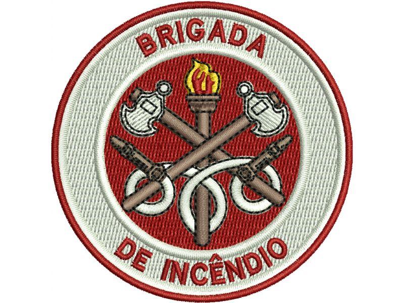 Patch Brigada de Incêndio - Termocolante