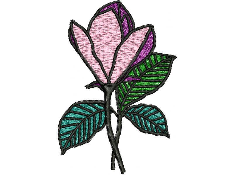 Patch Flor Lilás - Termocolante