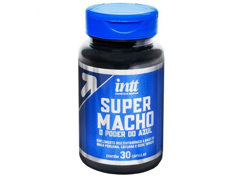 Super Macho - O Poder do Azul 30 cápsulas