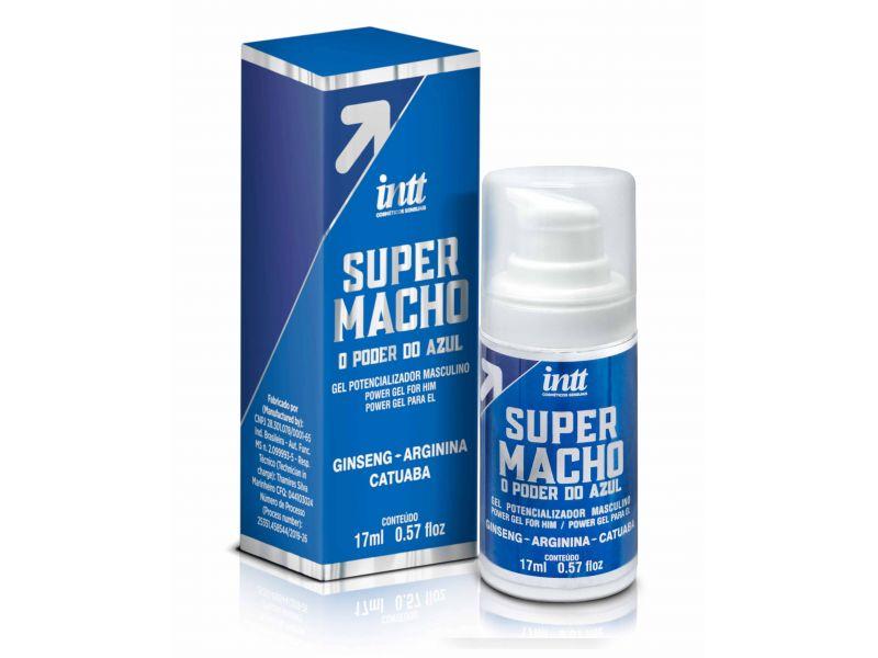 Super Macho - O poder do Azul Gel 17ml