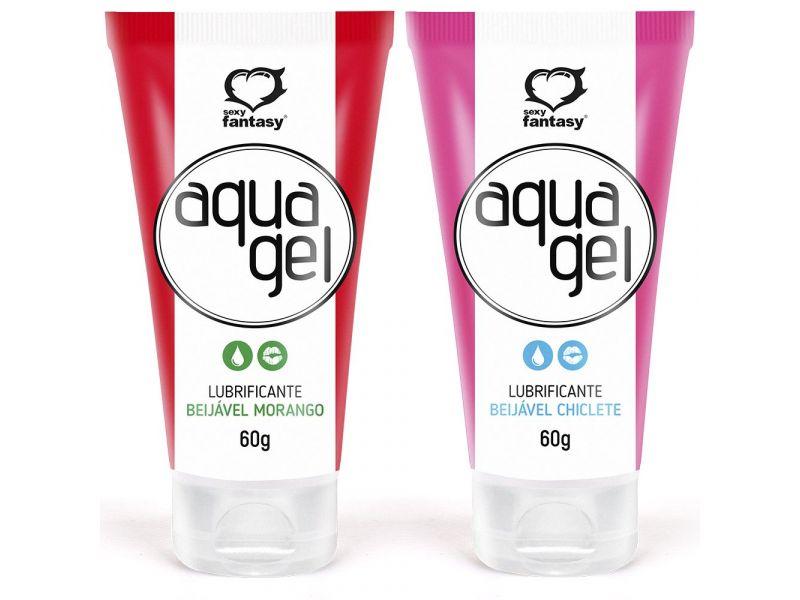 Aqua Gel Lubrificante Beijável 60g