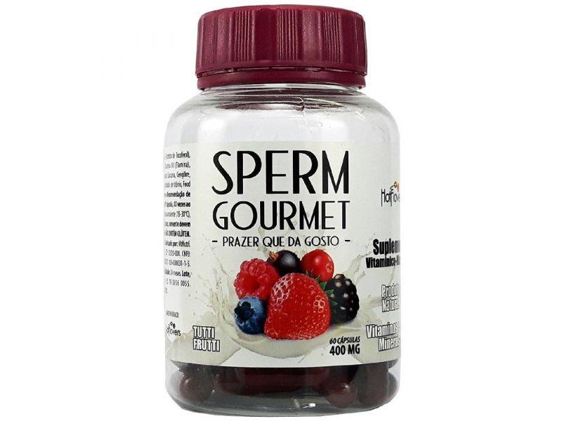 Sperm Gourmet - Sabor na Ejaculação 60 cápsulas