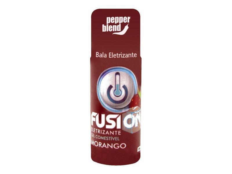 Gel Comestível Fusion Eletrizante Sabor Morango