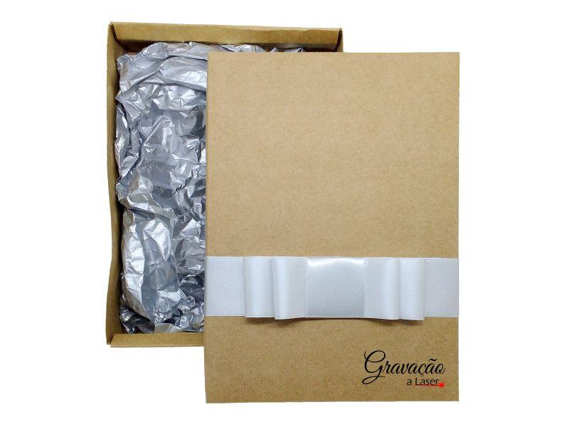Caixa de presente para molduras em Pedra