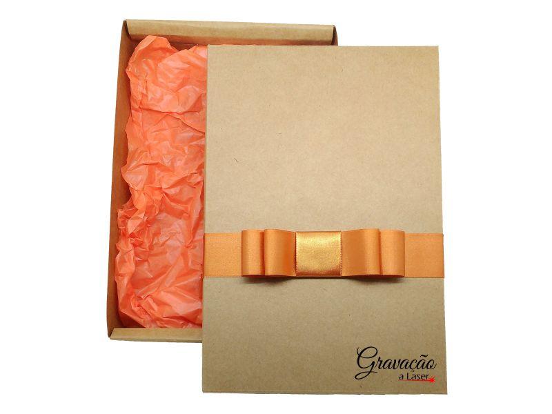 Caixa de presente para molduras em MDF