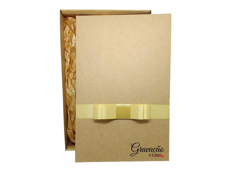 Caixa de presente para molduras em madeira