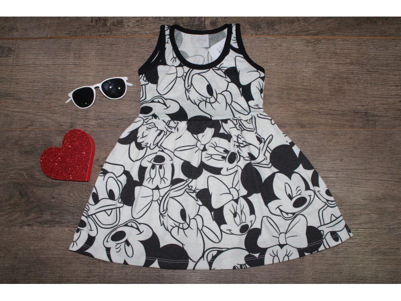 Vestido Regata com Elástico na Cintura - Disney