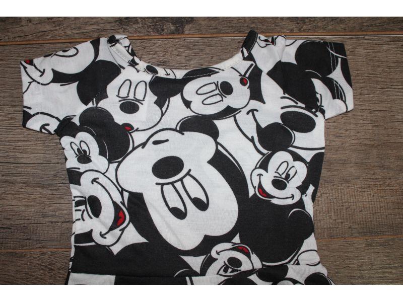 Vestido com Manga e acinturado - Disney