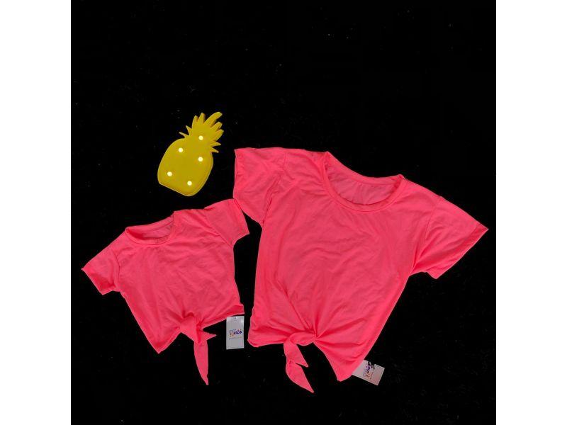 Blusa Mãe e Filha - Neon